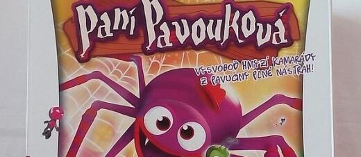 b99ad2577 Paní Pavouková – společenská hra pro děti | Play-Arena.cz