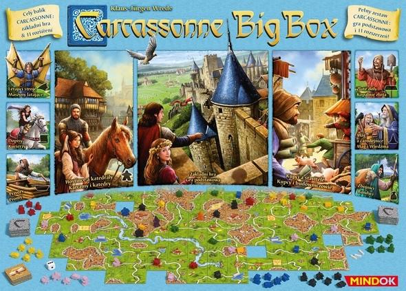 Carcassone Zakladni Hra Big Box Pravidla Online Play Arena Cz