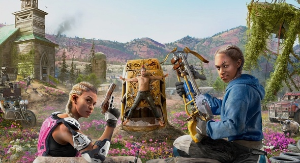 Sadistická dvojčata z Far Cry New Dawn.